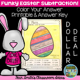 Color By Numbers Easter Subtraction Dollar Deal
