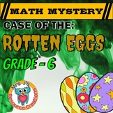 Easter Math Activity: 6th Grade Math Mystery - Distance Learning