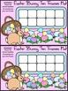 Easter Math Activities: Easter Bunny Easter Ten Frames Activity Packet