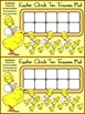 Easter Math Activities: Easter Chick Easter Ten Frames Spring Math Activity