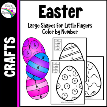 Easter Activities Color by Number