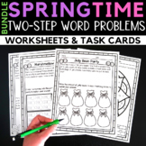 Spring Two-Step Word Problems