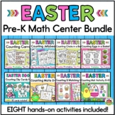 Easter Math Activities Bundle for Preschool