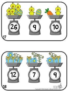 Easter Math Activities Logic Task Cards