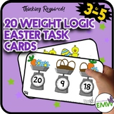Easter Math Activities Logic Task Cards