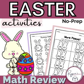 Easter Math Activities Pack - No Prep