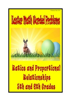 Easter Math Activities: Ratio and Proportional Relationships 5th 6th