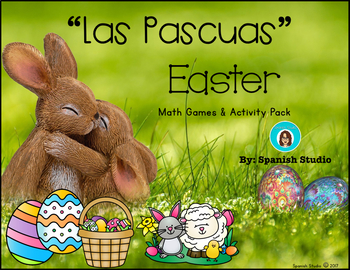 Easter Math Activities (Spanish)- FREEBIE!