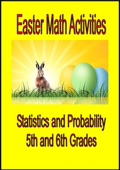 Easter Math Activities Statistics and Probability Tasks