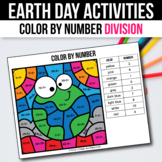 Earth Day Math Activities for 3rd 4th 5th Grade Basic Division Games