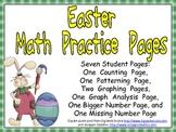 Easter Math Activities for Kindergarten