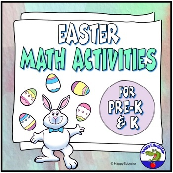 Easter Math Activities for Primary