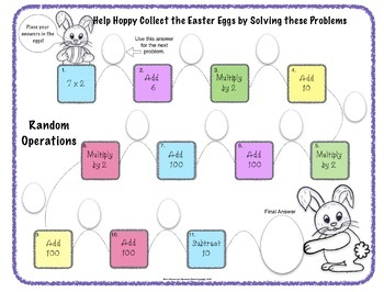 Easter Math Activity