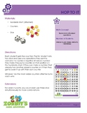 Easter Math Activity - Hop To It