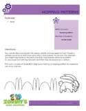 Easter Math Activity - Hopping Patterns
