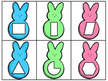 *FREEBIE* Easter Math Baskets - Quadrilaterals