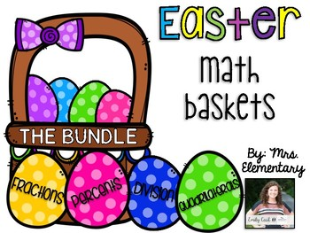 Easter Math Baskets - The BUNDLE!