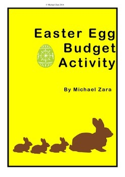 Easter Math Budget Activity