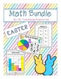 Spring/Easter Math Games/Centers Bundle - Data Management/