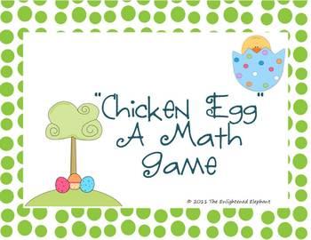 Easter Math Card Game