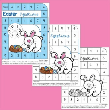 Easter Math Center