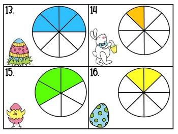 Easter Math Center Activities