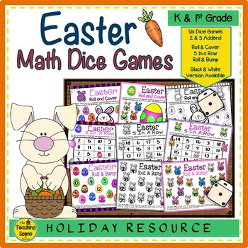 Easter Math Center Dice Games