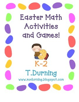 Easter Math Center Games and Activities