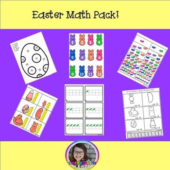 Easter Math Center Pack