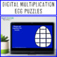 MULTIPLICATION Egg Puzzles | FUN Easter Math Centers or Games | Fact Fluency