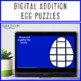 ADDITION Egg Puzzles | Easter Math Centers, Activities, or Fact Fluency Practice