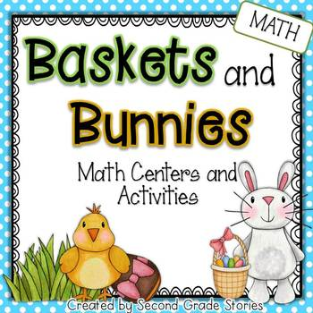 Easter Math Centers and Activities ~ Baskets and Bunnies