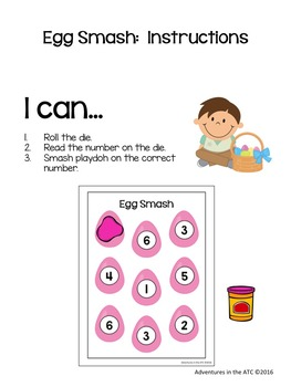 Easter Math Centers and Games