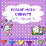 Easter Math Centers for Kindergarten
