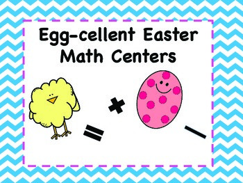 Easter Math Centers/Activities