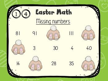 Easter Math Challenges