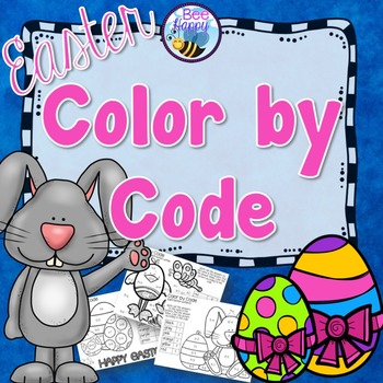 Easter Math Color by Code