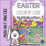 Easter Math Coloring Sheets Multiplication
