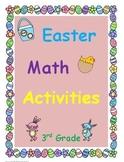 Easter Math Common Core Activities Grade 3 (3.OA.3, 3.OA.8, 3.NF.3b, 3.NF.3d)