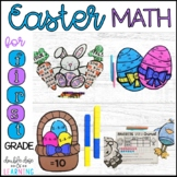 Easter Math Craftivities for First Grade {Equations, Number Order, Graphing}