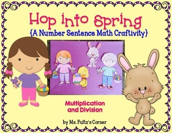 Easter Math Craftivity: Multiplication and Division