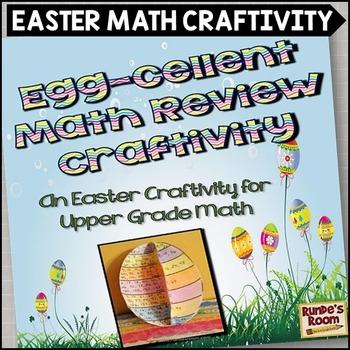 Easter Math Craftivity