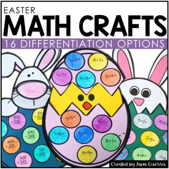 Easter Math Crafts *NEW* | Easter Math Activity