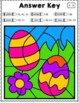 EASTER MATH Differentiated Multiplication Worksheets for Facts 1-12