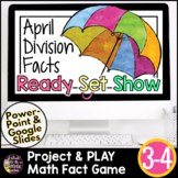 Easter Math | Spring Math Activities | Division Game | Division Facts