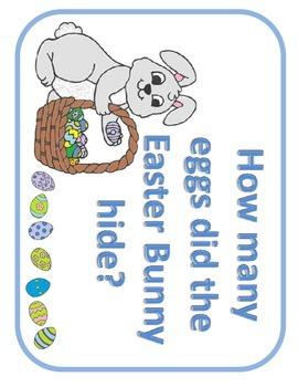 Easter Math Egg Hunt ( Fact Family, Missing Addend Game)