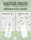 Easter Math: Egg Hunt Map with Coordinates