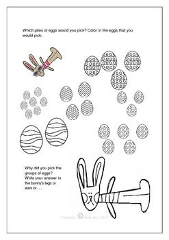 Easter Math - Eggciting Problems