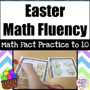 Easter Math Fact Practice to 10