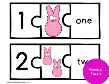 Easter Math File Folder Games